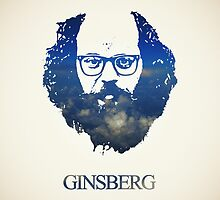 Icons - Allen Ginsberg by ponton