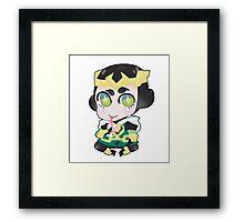 Young Avengers/JIM:FI || Kid Loki Framed Print