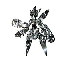Mega Scizor used Bullet Punch Photographic Print