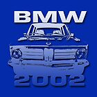 BMW 2002 Pillow/Tote by OldDawg