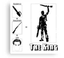 The King - Light Canvas Print