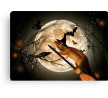 Bewitching - Squirrel Canvas Print