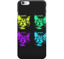 Wut. iPhone Case/Skin