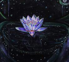 Luminescent Lotus by oddlyoceana