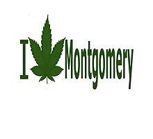 I Love Montgomery by Ganjastan