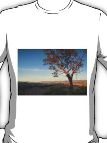 early evening towards lake hume T-Shirt
