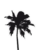 Palm tree on the beach sun sea by Style-O-Mat