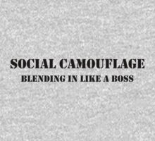 Social camouflage by newbs