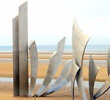 Omaha beach by laphotographe