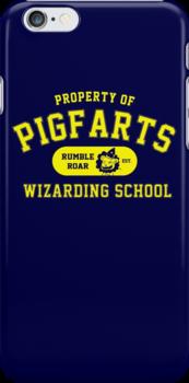Starkid: Pigfarts wizarding school (yellow) by Wipi Oly