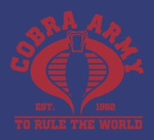 Cobra Army by CarloJ1956