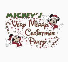 Mickey Mouse Very Merry Christmas party by sweetsisters