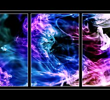 Ink Triptych by Emjay01