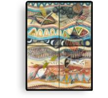 Tropical Fusions (Product Design II)  Canvas Print