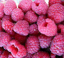 Sweet and delicious raspberries by Ana Belaj
