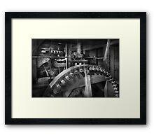 Steampunk - Runs like clockwork Framed Print