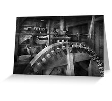 Steampunk - Runs like clockwork Greeting Card