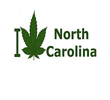 I Love North Carolina by Ganjastan