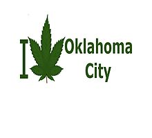 I Love Oklahoma City by Ganjastan