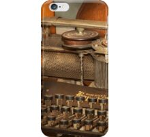 Steampunk - The history of typing iPhone Case/Skin