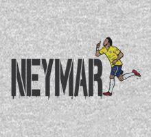 Neymar  by Ben Farr