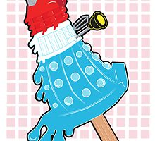 Rocket Pop Dalek by NikoTrash