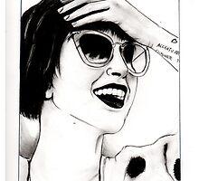 Hayley Williams Portrait by Nadia Camilleri