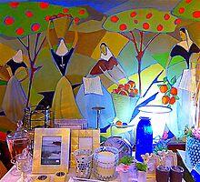 The Orange Pickers by Fara