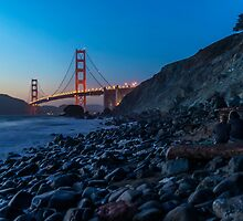 Quiet Evening on Marshall's Beach by James Watkins