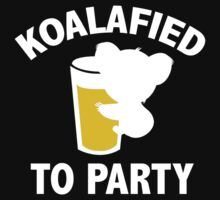 Koalafied To Party by DesignFactoryD