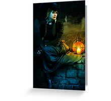 Mourning Light Greeting Card