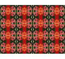 Hibiscus motif Photographic Print