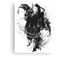 Liliana Vess in Black Canvas Print