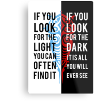 Light in the Dark Metal Print