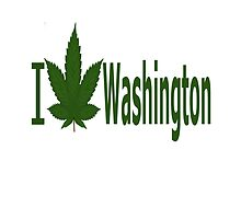 I Love Washington by Ganjastan