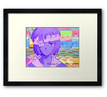 Rei Ayanami Quote 3 Framed Print