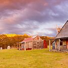 Coolamine Homestead Sunset, Kosciuszko National Park, New South Wales, Australia by Michael Boniwell