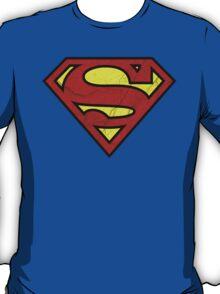 Cracked Superman T-Shirt