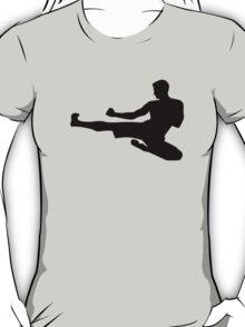 Karate jump kick T-Shirt