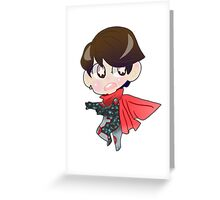 Young Avengers    Wiccan Greeting Card