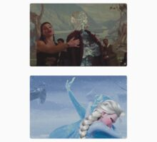 Elsa and Anna: Before and After Disney by tellmewhyoustay