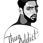 Thug Addict #4 v.1 by Shane  Luskie
