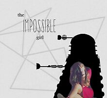 The Impossible Girl - Oswin Oswald from Asylum of the Daleks by infinite-tardis