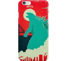 Godzilla: All Hail the King iPhone Case/Skin