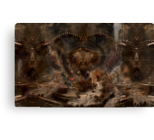 steampunk water world Canvas Print