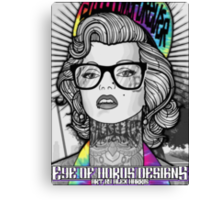 Tie Die Hipster Monroe Canvas Print