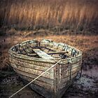 The old rowing boat by Art Hakker Photography