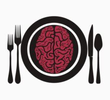 Brains for Dinner 2 by PokerTShirts