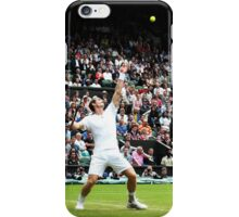 Andy Murray @ Wimbledon iPhone Case/Skin