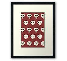 HTTYD Astrid Skulls Framed Print